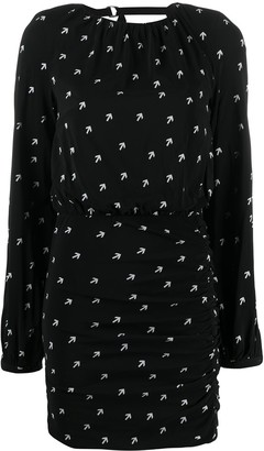 Diesel Arrow-Print Mini Dress