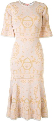 Alice McCall Adore patterned jaquard dress