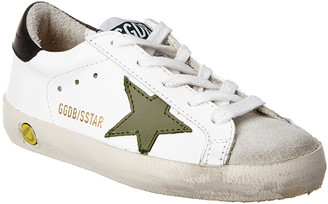 Golden Goose Superstar Pelle Military Leather Sneaker