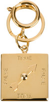 Sophie Hulme Lie Detector Charm keyring - women - Brass - One Size