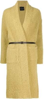 Roberto Collina belted cardi-coat
