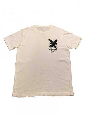 MHI White Cotton T-shirts