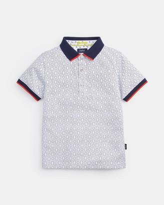 Ted Baker Geo Printed Polo Top