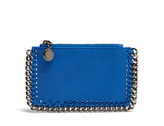 Stella McCartney Falabella faux-suede coin purse and cardholder