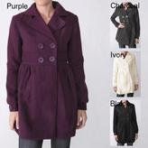 ADI Ci Sono by Junior's Wool Blend Coat