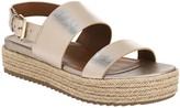 Naturalizer Flatform Leather Sandals - Jaycie