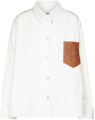 Loewe Anagram denim shirt