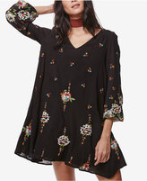 Free People Oxford Embroidered Shift Dress