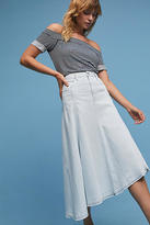 Citizens of Humanity Raquel Frayed Denim Skirt