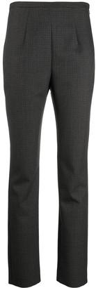 Totême Cropped Straight Leg Trousers