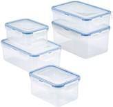 Lock & Lock Easy Essentials 10-pc. Rectangular Food Storage Container Set