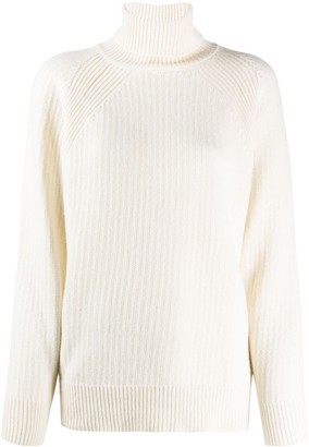 Woolrich Roll Neck Chunky Knit Jumper