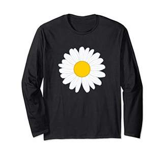 Daisy Flower Petal Full Bloom Design Long Sleeve T-Shirt