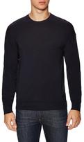 Armani Collezioni Ribbed Crewneck Sweater
