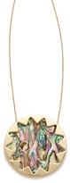House Of Harlow Abalone Sunburst Necklace