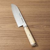 "Crate & Barrel ZWILLING ® J.A. Henckels Miyabi Birchwood 7"" Santoku Knife"