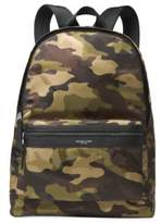 Michael Kors Military Camouflage Backpack
