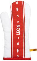 Leon Oven Mitt, Red / White