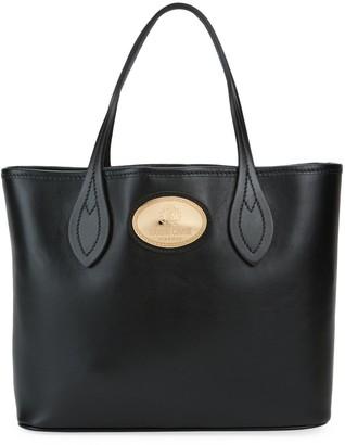 Roberto Cavalli Leather Box Tote