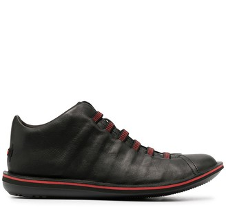 Camper Lace-Up Leather Trainers