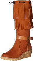 Tommy Hilfiger Heidi Fringed Wedge Boot (Little Kid/Big Kid)