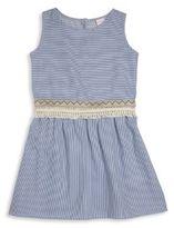 OndadeMar Little Girl's Striped Dress