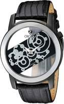 Croton Men's CN307931BSSK Circuit Breaker Analog Display Quartz Black Watch