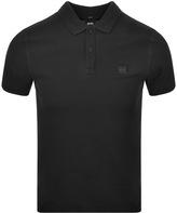 BOSS ORANGE Prime Polo T Shirt Black