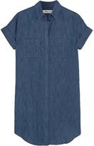 Madewell Courier Denim Mini Dress - Mid denim