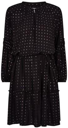 MUNTHE Kira Polka-Dot Dress