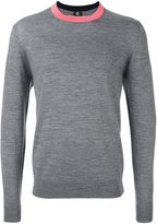 Paul Smith contrast neck jumper