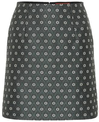 ALEXACHUNG Jacquard miniskirt