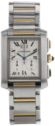 Cartier 2000 pre-owned Tank Francaise 29mm