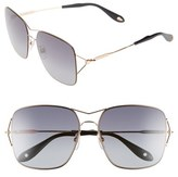 Givenchy 58mm Oversized Sunglasses