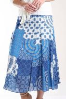 Casual Studio Patchwork Print Skirt