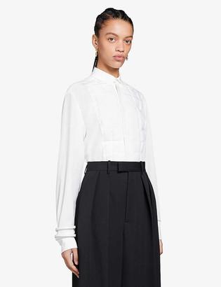 Bottega Veneta Padded silk shirt