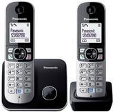 Panasonic KX-TG6812EB Digital Cordless Phone Twin Handset