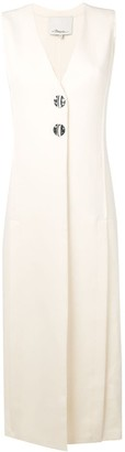 3.1 Phillip Lim Long Vest Dress With Slits