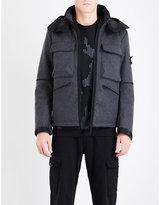 Stone Island Panno-R 4L Stretch wool-blend jacket