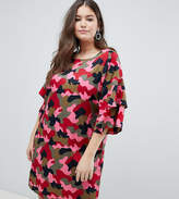 Junarose Camo Print Dress