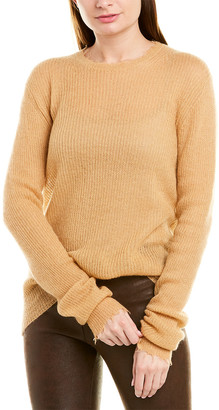 Helmut Lang Feather Weight Wool & Mohair-Blend Sweater