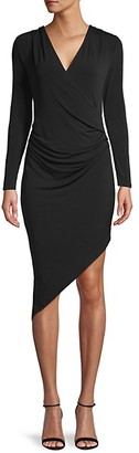 BCBGeneration Asymmetrical Cocktail Dress