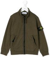 Stone Island Junior - zipped sweatshirt - kids - Cotton - 2 yrs