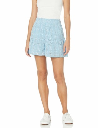 BCBGeneration Women's Cotton Eyelet Shorts