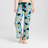Sesame Street Women's Plush Pajama Pants - Cookie Monster