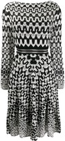 Missoni Geometric-Print Flared Dress