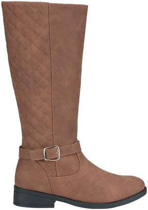 Weeboo Women's Casual boots BROWN - Brown Fiorina Quilted Boot - Women