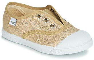 Citrouille et Compagnie RIVIALELLE girls's Shoes (Trainers) in Gold