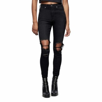 True Religion Women's CAIA High Rise Skinny Leg fit