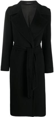 Tagliatore Cashmere Single-Breasted Coat